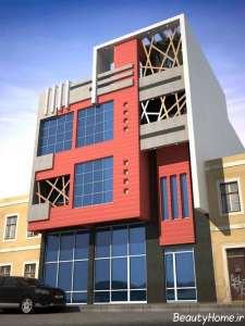 نمای فوق العاده ساختمان