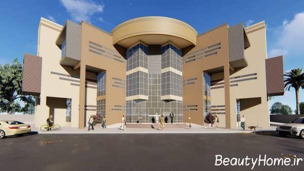طراحی زیبای ساختمان اداری