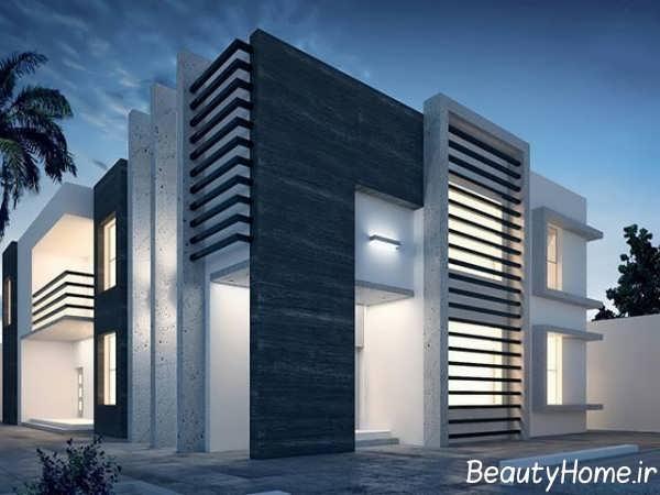 طرح عالی در نمای ساختمان