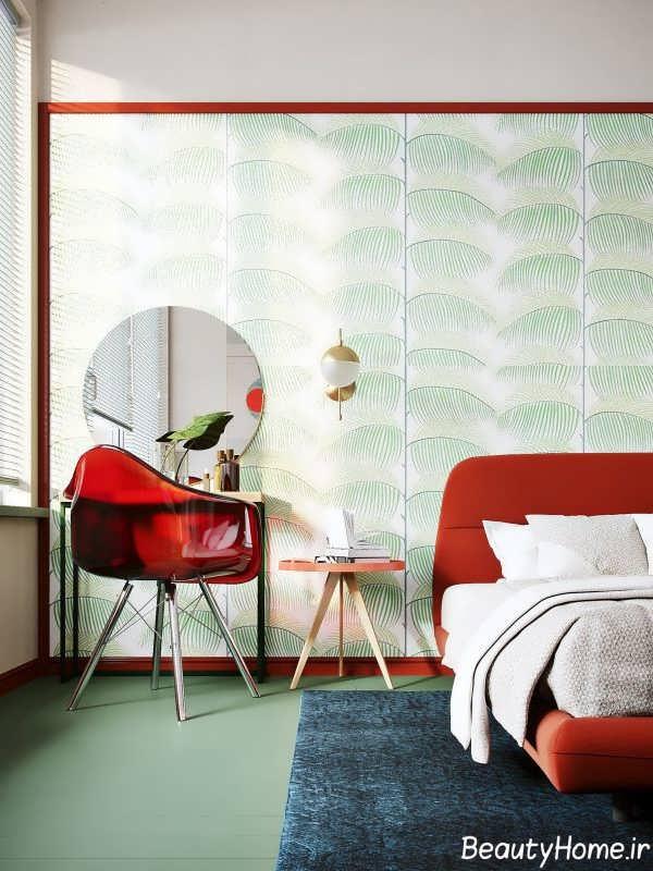 دیزاین لاکچری اتاق خواب