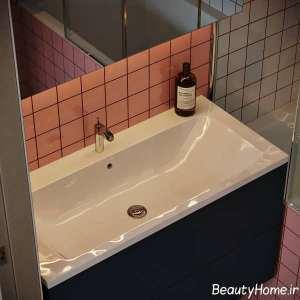 چیدمان شیک حمام