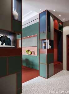 ترکیب رنگی عالی در دیزاین منزل