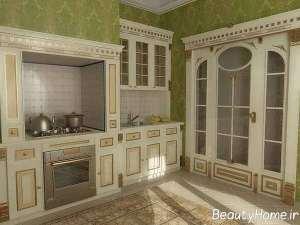 دکوراسیون آشپزخانه سلطنتی