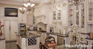 طراحی آشپزخانه کلاسیک