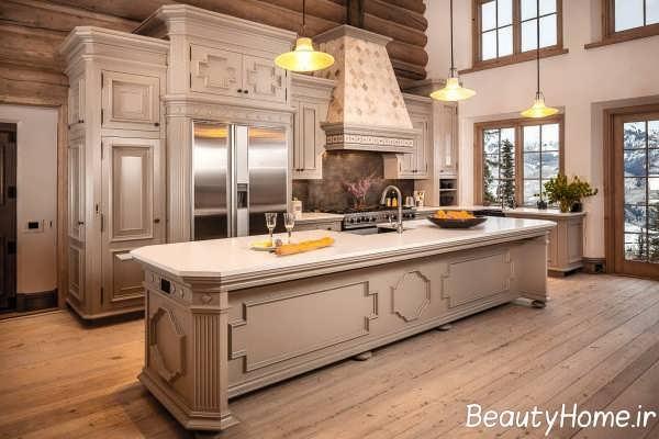 دکوراسیون ایده آل آشپزخانه سلطنتی
