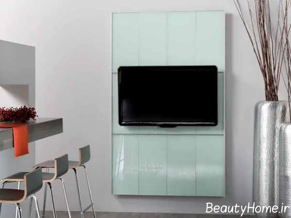 انتخاب رنگ مناسب برای دیوار پشت تلویزیون
