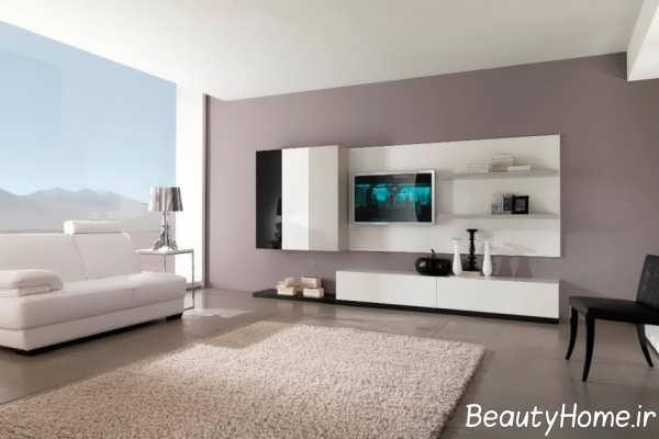 رنگ مناسب و عالی برای دیوار پشت تلویزیون