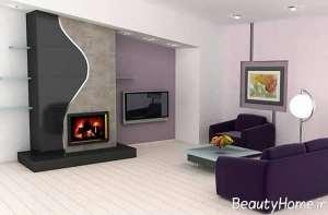 رنگ عالی برای دیوار پشت تلویزیون