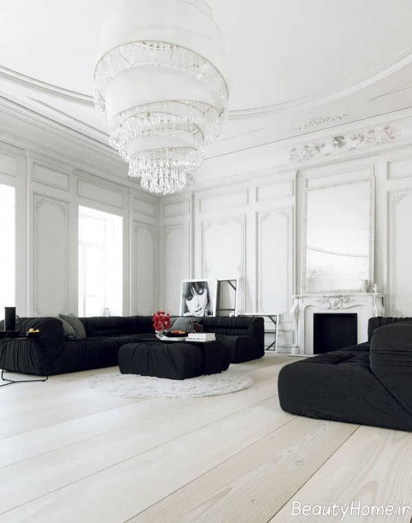 دیزاین متفاوت اتاق پذیرایی