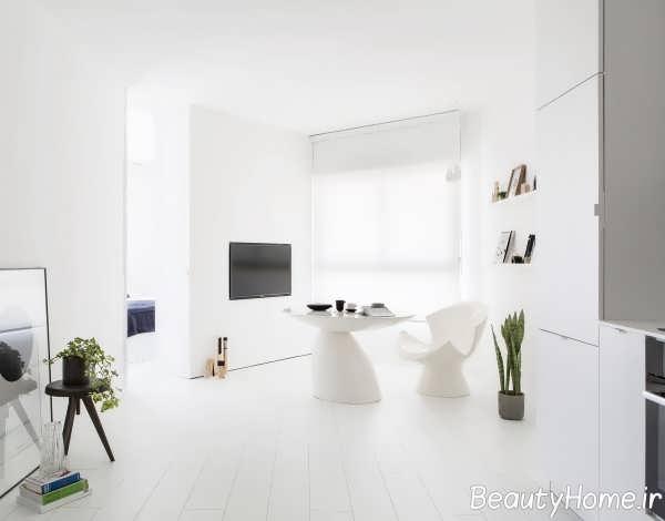 دیزاین زیبای اتاق پذیرایی