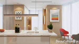 دیزاین چوب و رنگ سفید در منزل