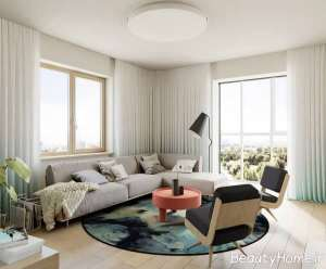 اتاق نشیمن شیک و زیبا