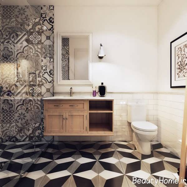 طراحی زیبای حمام شمال اروپا
