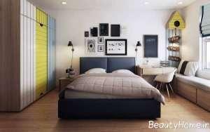 طراحی اتاق خواب به سبک نوردیک اروپا