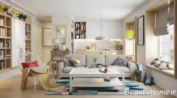 طراحی مدرن اتاق خواب