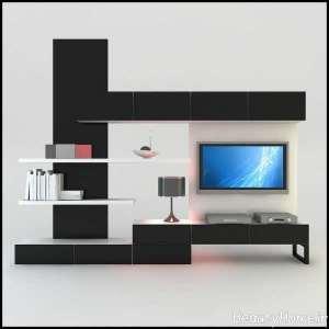 دیزاین لاکچری میز تلویزیون