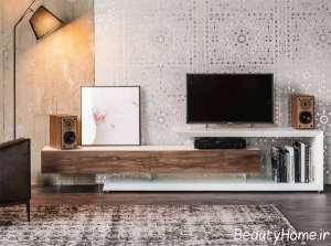 طراحی زیبای میز تلویزیون