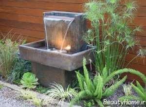 طراحی زیبای آب نمای کوچک