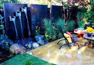 طراحی زیبای آب نما