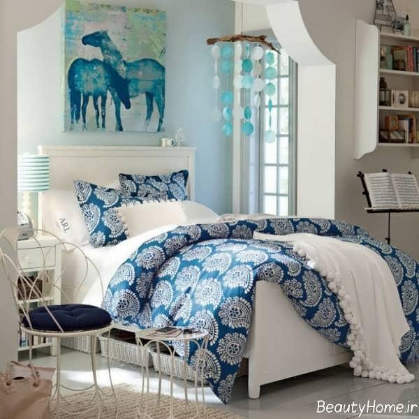 طراحی زیبا و شیک اتاق خواب دخترانه