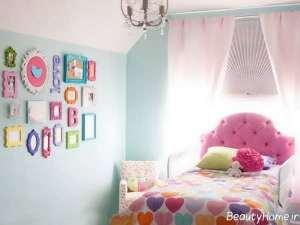 تزیین اتاق خواب دخترانه با وسایل ساده