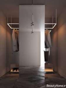 طراحی لاکچری منزل با تم طلایی