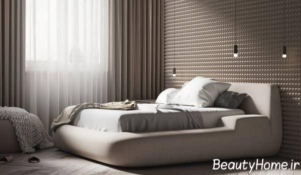 چیدمان شیک و زیبای اتاق خواب