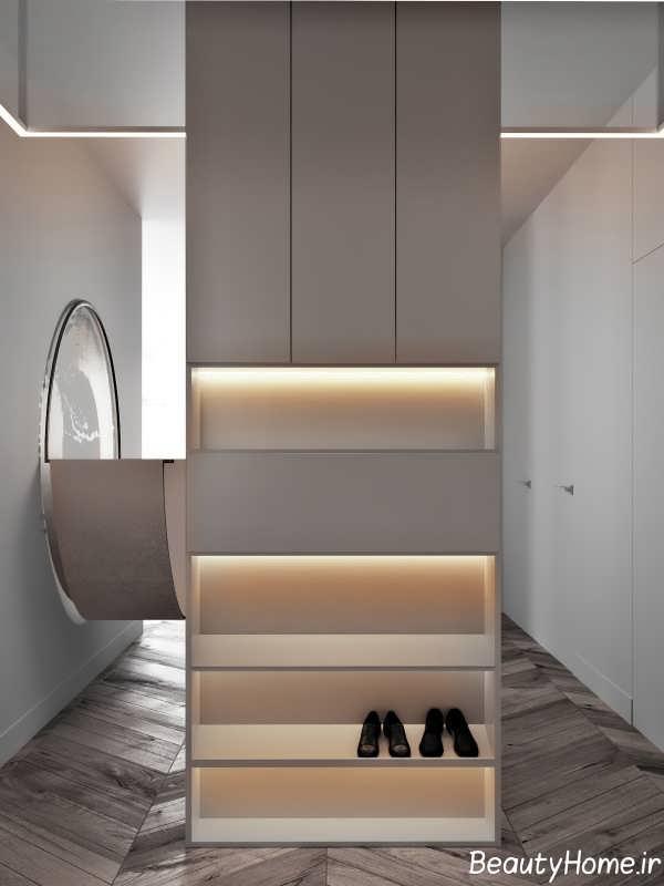 دیزاین متفاوت منزل با تم طلایی
