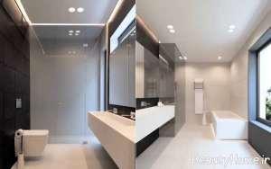 دکوراسیون مدرن حمام