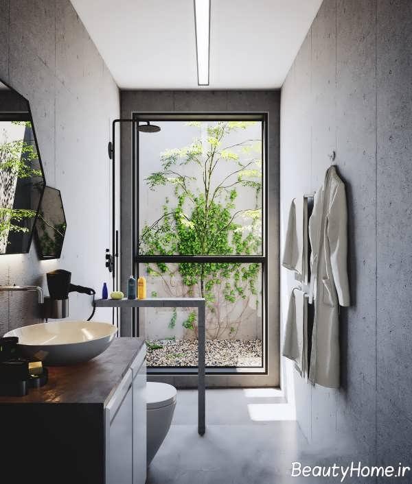 دکوراسیون متفاوت حمام