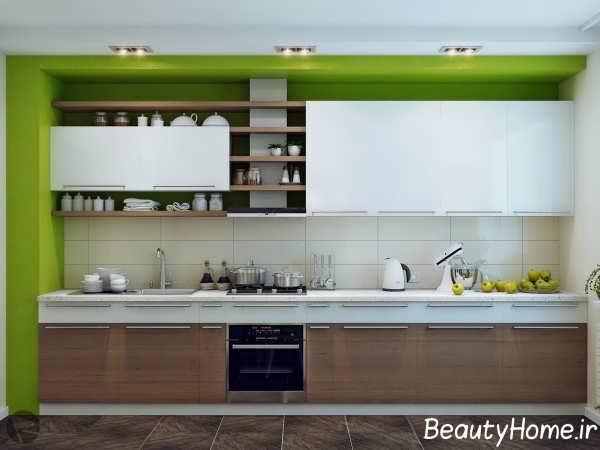 دکوراسیون جذاب آشپزخانه