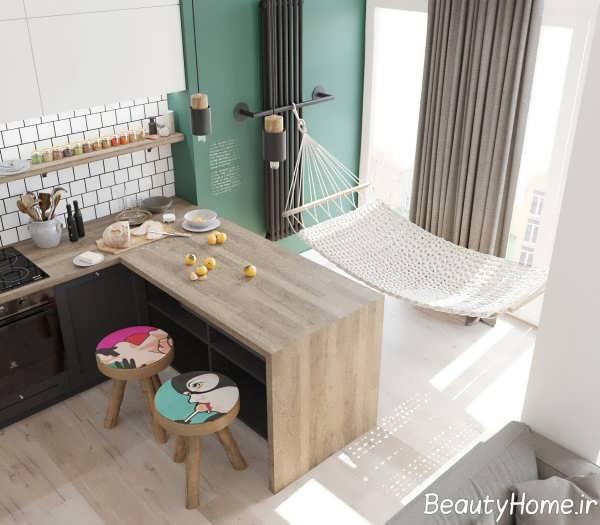 دیزاین ظریف آشپزخانه