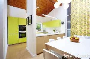 دیزاین لاکچری آشپزخانه