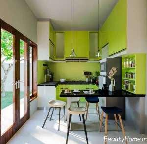 دکوراسیون متفاوت آشپزخانه