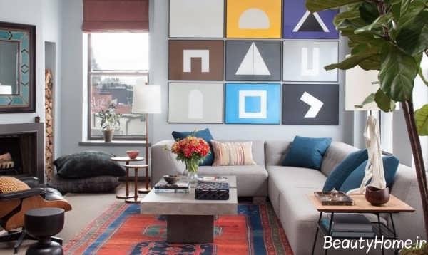 ایده های جالب در طراحی دکوراسیون اتاق نشیمن مدرن
