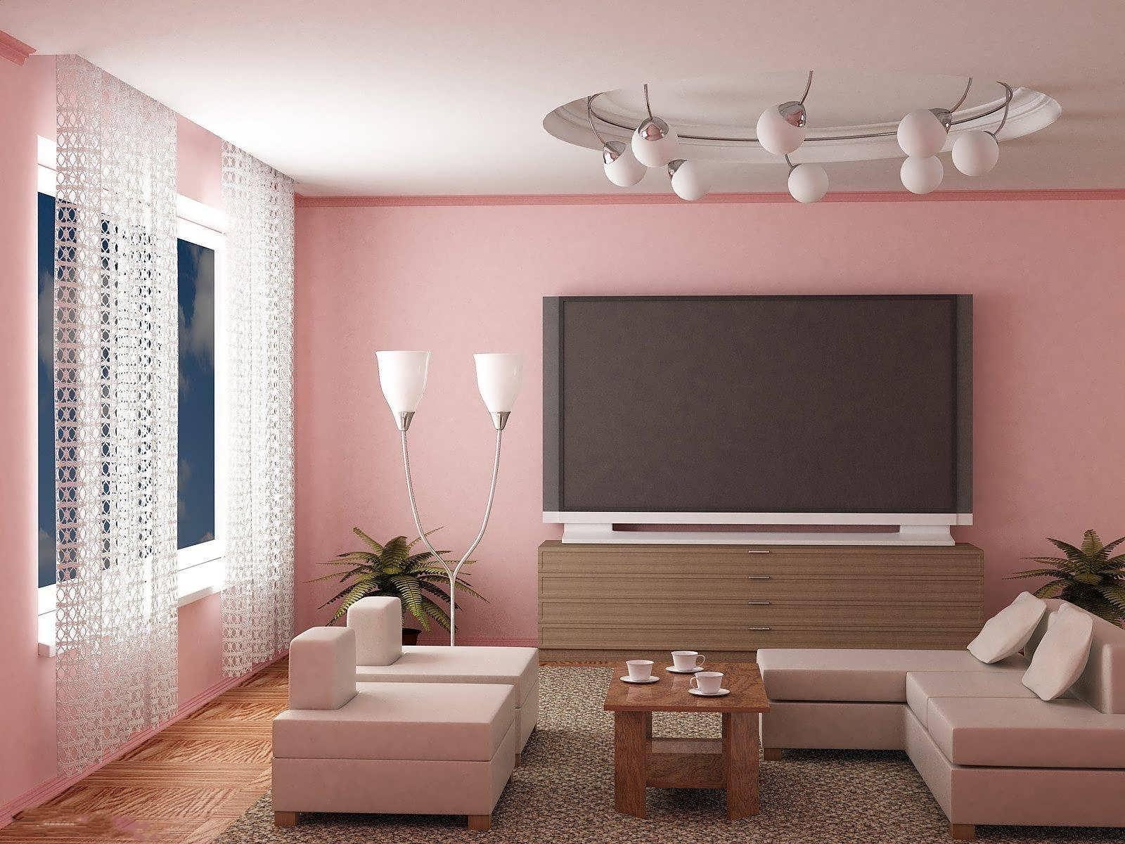 ترکیب رنگ صورتی و خاکستری در طراحی دکوراسیون منزل