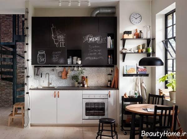 دکوراسیون آشپزخانه مدرن و کوچک