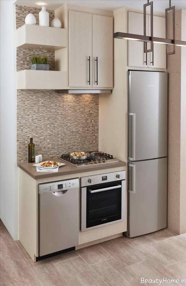 طراحی زیبا و جذاب آشپزخانه