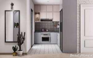طراحی داخلی زیبا و بی نظیر آشپزخانه