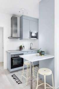 دکوراسیون داخلی آشپزخانه سفید