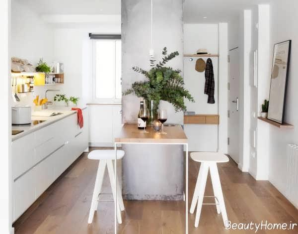 دکوراسیون داخلی زیبا و بی نظیر آشپزخانه