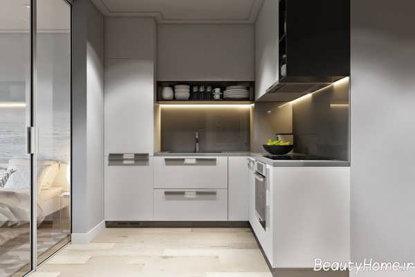 دکوراسیون شیک و زیبا آشپزخانه