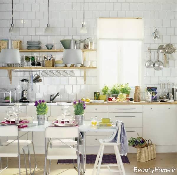 دکوراسیون زیبا و کاربردی آشپزخانه