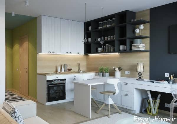 دکوراسیون داخلی زیبا و بی نظیر برای آشپزخانه