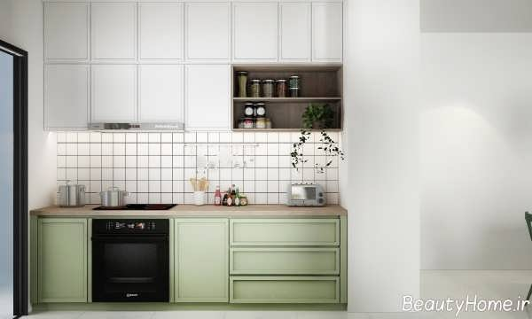 طراحی زیبا و مدرن آشپزخانه