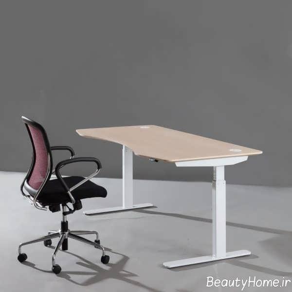 طراحی لاکچری میز کار