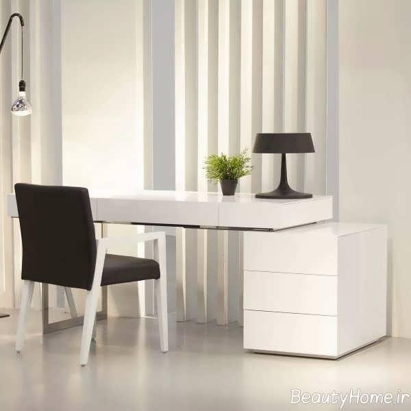 طراحی مدرن میز کار