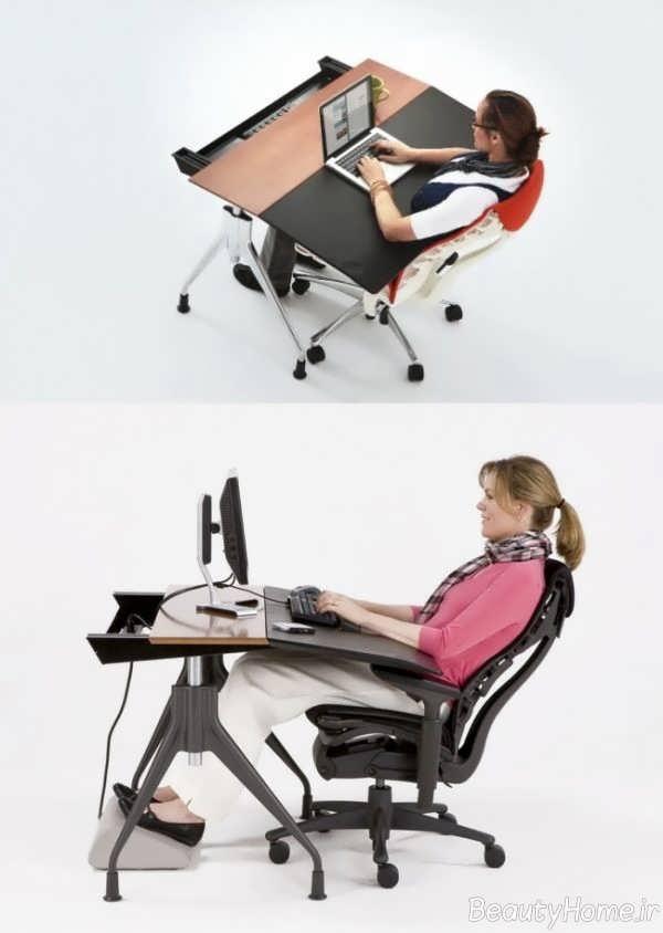 طراحی ایده آل میز کار