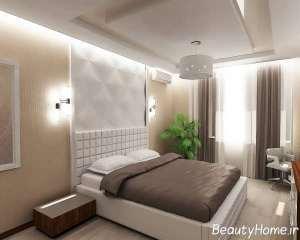 دیزاین لاکچری اتاق خواب مستر