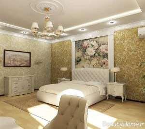 دیزاین زیبای اتاق خواب مستر